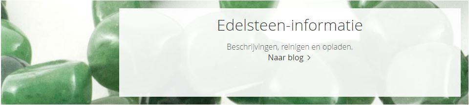 Banner naar weblog artikel met korte uitleg eigenschappen van verschillende edelsteensoorten
