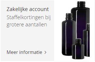 Informatie zakelijke account Miron violet glas